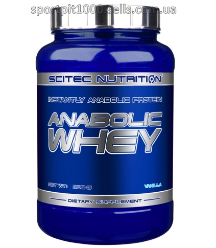 SciTec Nutrition       Anabolic Whey	            900 g.