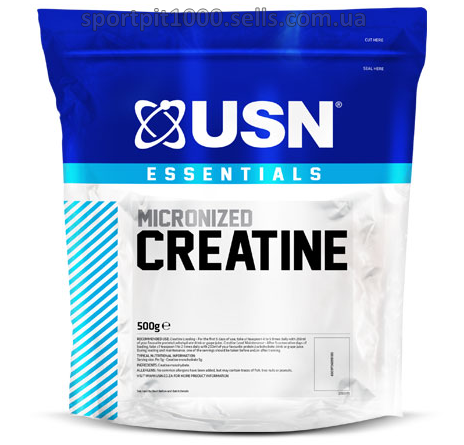 USN       Essentials Micronized Creatine    500 g.