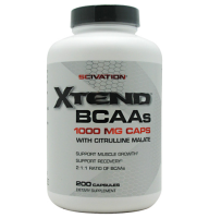 Scivation             Xtend BCAAs  1000 mg.caps	      200 caps.