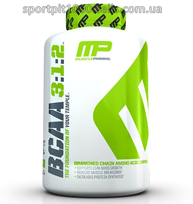 MusclePharm  BCAA 3: 1:2   240 caps.