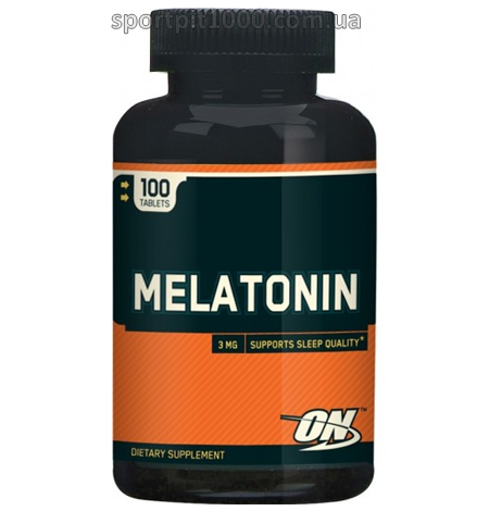 Optimum Nutrition           Melatonin            100 tab.