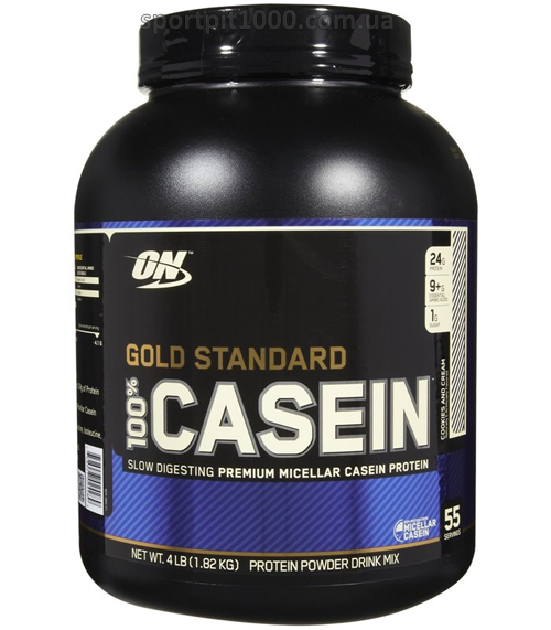 Optimum Nutrition  100% Casein  Gold Standard      1.82 kg./4 lb.