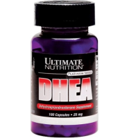 Ultimate Nutrition    DHEA  (25 mg)          100 caps.