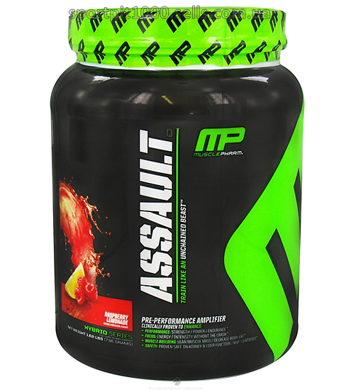 MusclePharm       Assault            736 gr.