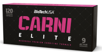 BioTech USA            CARNI   ELITE                 120  caps.