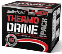 ​BioTech USA             THERMO DRINE PACK           30 pack.