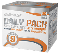 ​BioTech USA                 DAILY PACK                     30 pack.