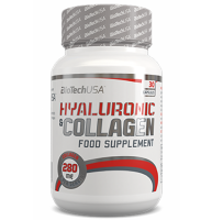 ​BioTech USA      HYALURONIC & COLLAGEN       30caps.
