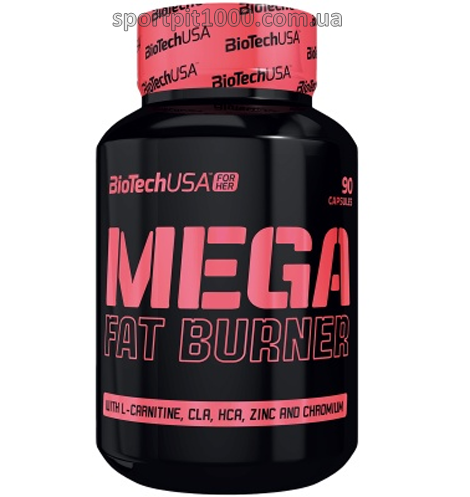 ​BioTech USA For Her       Mega Fat Burner          90 caps.