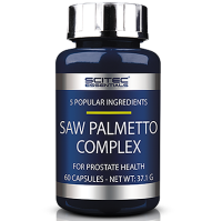 SciTec  Nutrition       Saw Palmetto Complex                 60 caps.