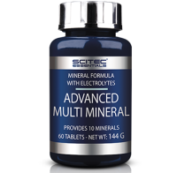 ​SciTec Nutrition           Advanced  Multi Mineral               60 tab.