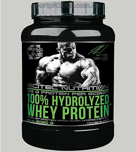 SciTec Nutrition        100% Hydrolyzed  Whey Protein       2030 g.