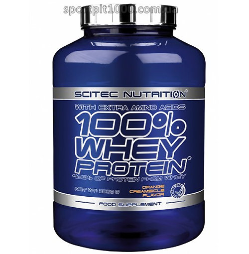 Scitec Nutrition           100% Whey Protein                 2350 g.