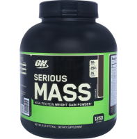 Optimum Nutrition         Serious Mass            2720 g./6 lb.