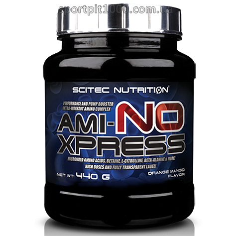 SciTec Nutrition               Ami-NO Xpress                          440 g.