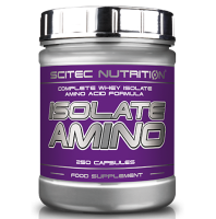 SciTec Nutrition        Isolate  Amino                    250 caps.