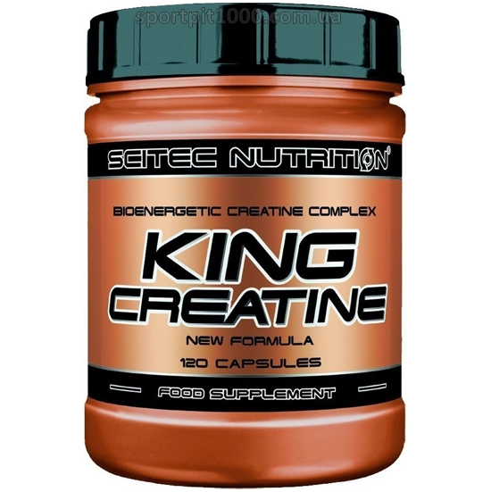 SciTec Nutrition              KING  Creatine                  120 caps.