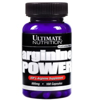 Ultimate  Nutrition               Arginine Power               100 caps.
