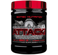 Scitec Nutrition              ATTACK! 2,0                                320 g.
