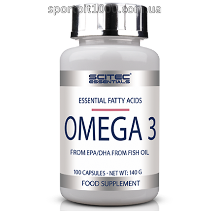 SciTec  Essentials              OMEGA 3                   100 caps.