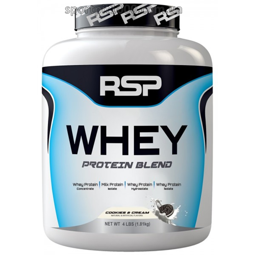 RSP Nutrition       WHEY Protein  Blend          1.81 kg./4 lb.