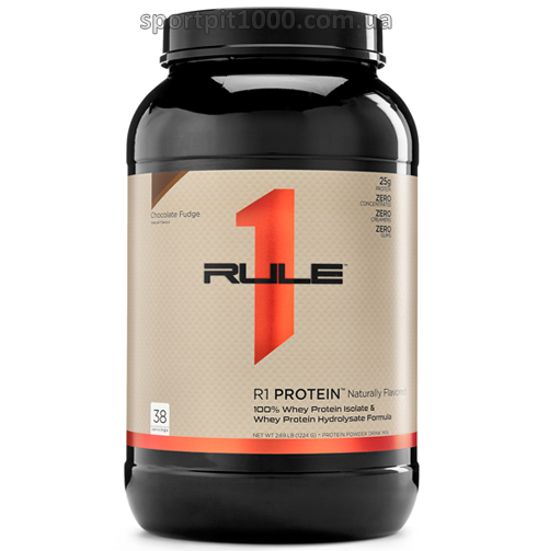 Rule 1 Proteins     R1 Protein Naturally Flavored   1100 g./2.4 lb.