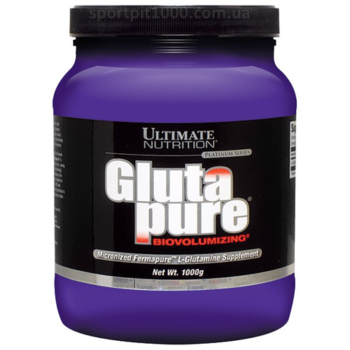 Ultimate Nutrition                Glutapure ®                        1000 g.