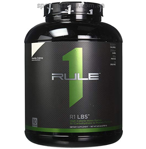 Rule One Proteins           R1 LBS              2730 g./6,01  lb.