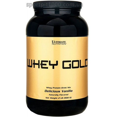 Ultimate Nutrition               Whey Gold                  908 g./2 lb.