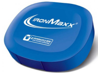 IronMaxx Nutrition         Pill box        Blue IronMaxx logo
