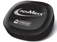 IronMaxx Nutrition         Pill box        Black IronMaxx logo