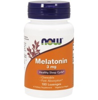 NOW                 Melatonin 3 mg                      180 Lozenges