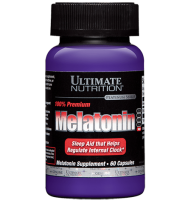 Ultimate Nutrition       100% Premium Melatonin         60 caps.