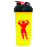 Universal Nutrition Shaker logo Universal yellow 700 ml.