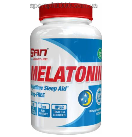 SAN                     MELATONIN                                  90 caps.