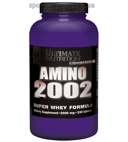 Ultimate  Nutrition              Amino 2002                         330 tab.