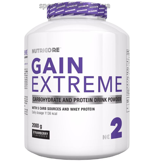 NUTRICORE                   Gain Extreme              2 kg.