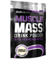 BioTech USA                    Muscle Mass                           1000 g.
