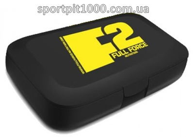 F2 Full Force              Pill box                 black with FF yellow logo