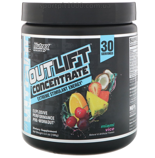 Nutrex       OUTLIFT® CONCENTRATE      186  g./6,6 oz.