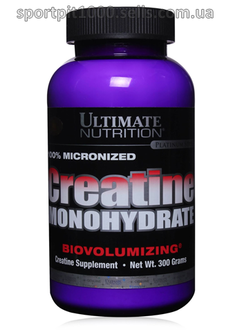 Ultimate Nutrition  100% Micronized Creatine Monohydrate 300g