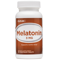 GNC          Melatonin 3 mg.                                             120 tab.