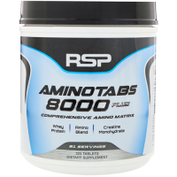 RSP Nutrition    AMINOTABS 8000 Plus                  325 tab.