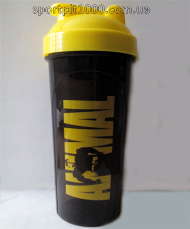 Universal       Shaker logo Animal black/yellow        700 ml./25oz.
