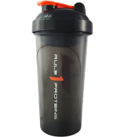 Rule 1 Proteins              Black R1 Shaker Cup       700 ml./25 oz.