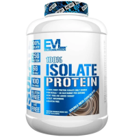 EVL    100% ISOLATE PROTEIN                    2270 g. / 5 lb.