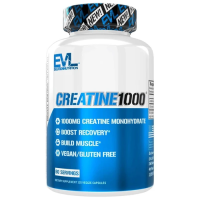 EVL                  Creatine1000                   120 veggie caps.