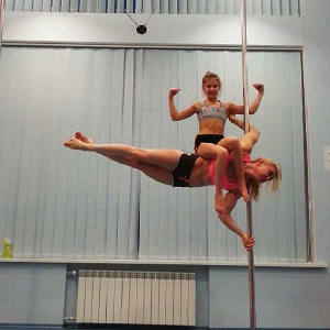pair on the pole