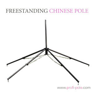 Freestanding Chinese Pole