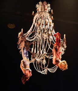 Aerial chandelier
